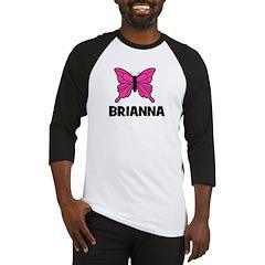 Butterfly - Brianna Baseball Jersey