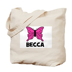 Butterfly - Becca Tote Bag