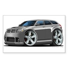 Dodge Magnum Grey Car Rectangle Decal