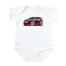 Dodge Magnum Maroon Car Infant Bodysuit