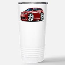 Dodge Magnum Maroon Car Travel Mug