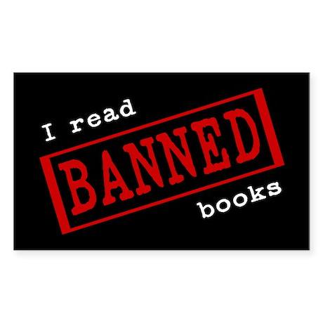 Banned Books Rectangle Sticker 10 pk)