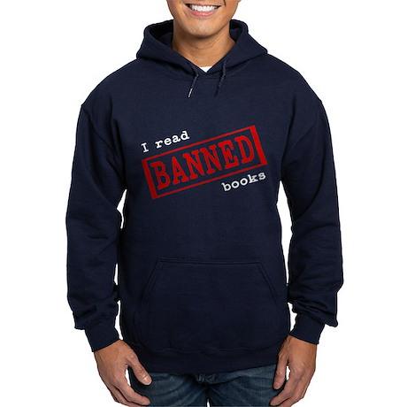 Banned Books Hoodie (dark)