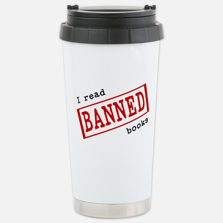 Banned Books Stainless Steel Travel Mug