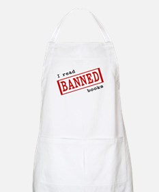 Banned Books BBQ Apron