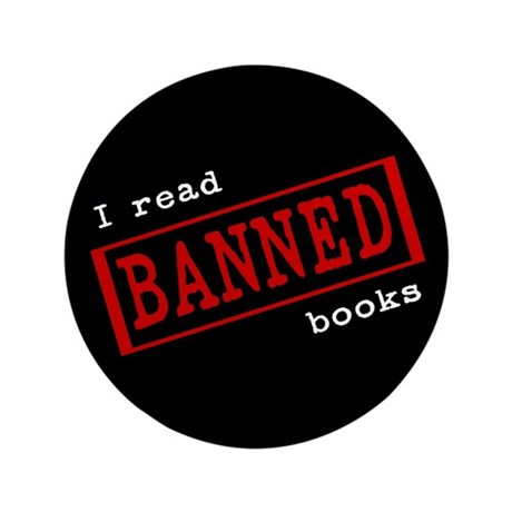 "Banned Books 3.5"" Button (100 pack)"