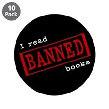 """Banned Books 3.5"""" Button (10 pack)"""