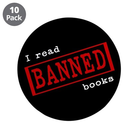 "Banned Books 3.5"" Button (10 pack)"
