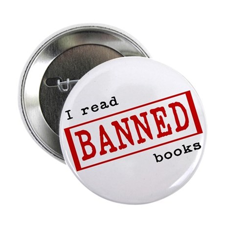 """Banned Books 2.25"""" Button (100 pack)"""