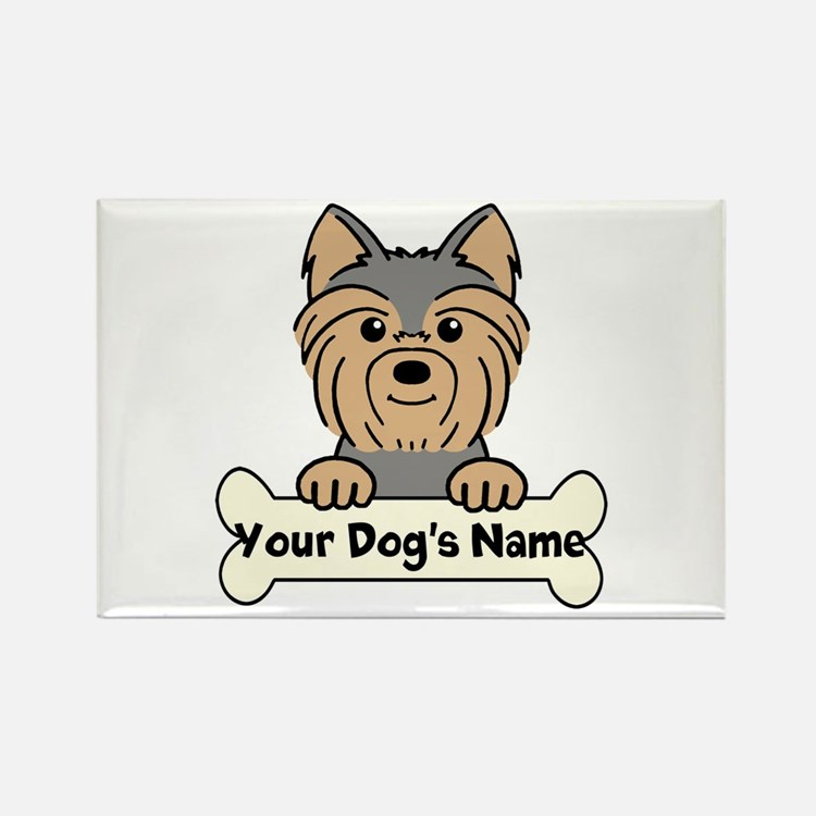 Personalized Yorkie Magnets
