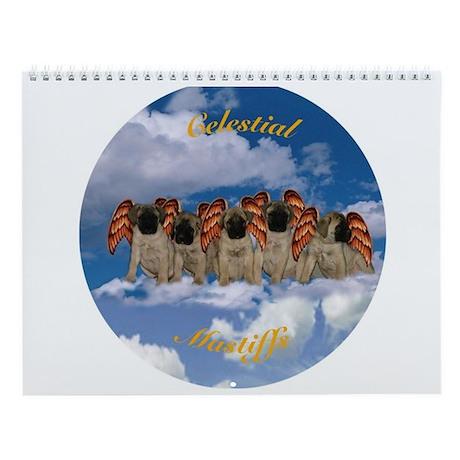 Mastiff 12 month Wall Calendar Celestial Mastiffs
