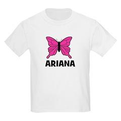 Butterfly - Ariana Kids T-Shirt