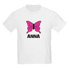 Butterfly - Anna Kids T-Shirt