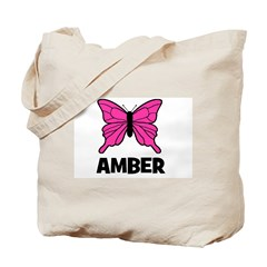 Butterfly - Amber Tote Bag