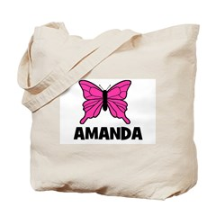 Butterfly - Amanda Tote Bag