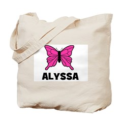 Butterfly - Alyssa Tote Bag