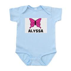 Butterfly - Alyssa Infant Creeper