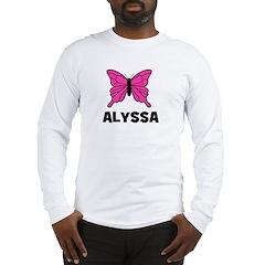 Butterfly - Alyssa Long Sleeve T-Shirt