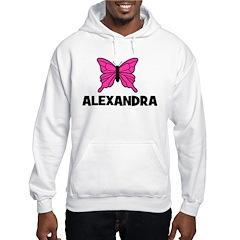 Butterfly - Alexandra Hooded Sweatshirt