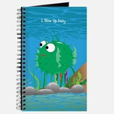Green I Blow Up Easy Journal