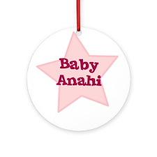 Baby Anahi Ornament (Round)