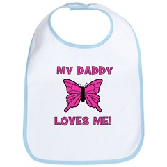 Butterfly - My Daddy Loves Me Bib