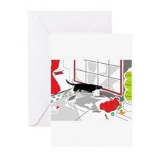 Looking In on Santa Greeting Cards (Pk of 10)