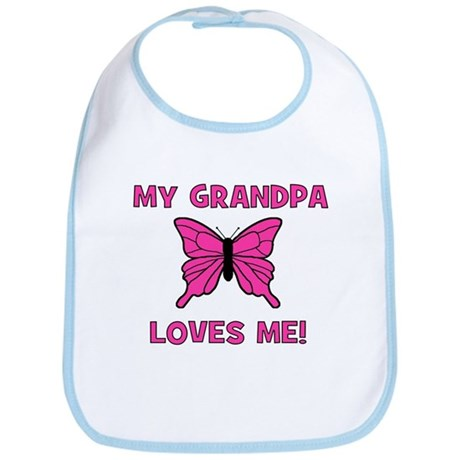 Butterfly - My Grandpa Loves Bib