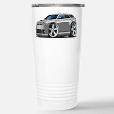 Dodge Magnum Silver Car Travel Mug
