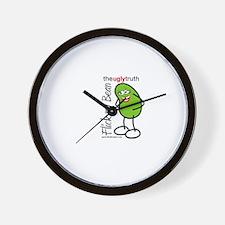 Flick My Bean Wall Clock