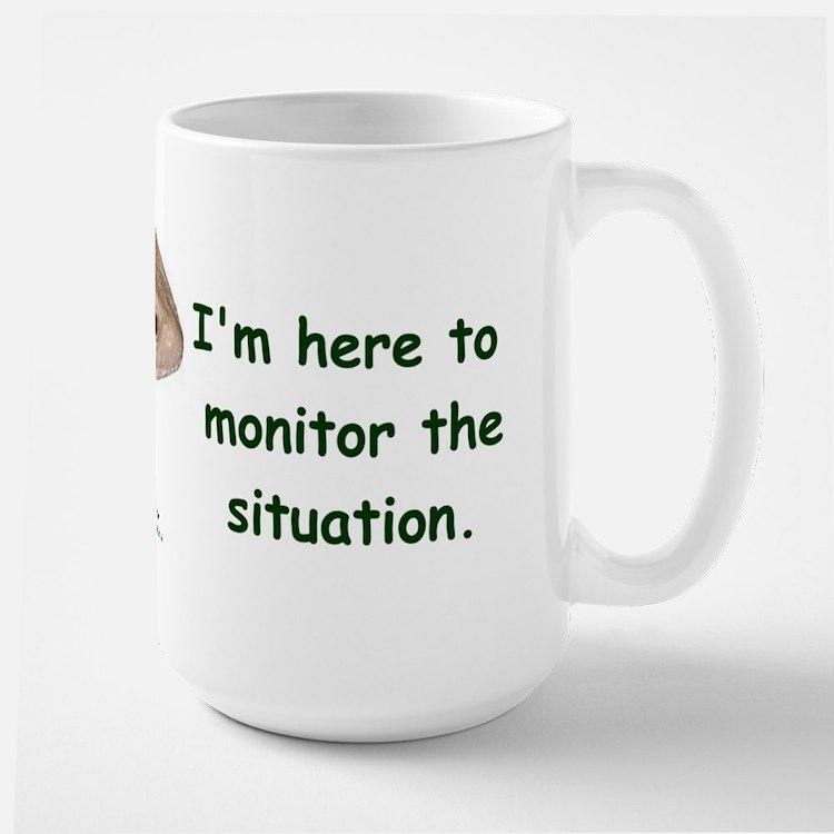 Savannah Monitor Large Mug