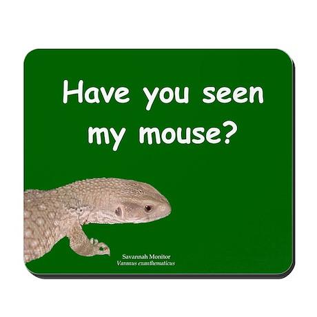 Savannah Monitor Mousepad