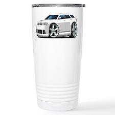 Dodge Magnum White Car Ceramic Travel Mug
