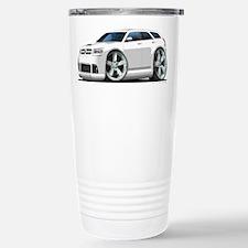Dodge Magnum White Car Travel Mug