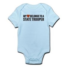State Trooper Infant Bodysuit