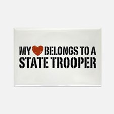 State Trooper Rectangle Magnet