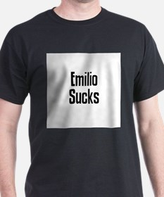 Emilio Sucks Ash Grey T-Shirt