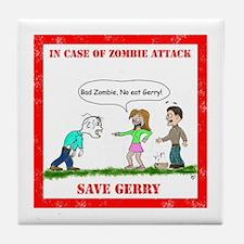 Save Gerry Tile Coaster