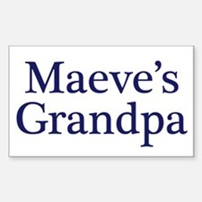Maeve Grandpa Rectangle Decal