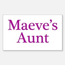 Maeve Aunt Rectangle Decal