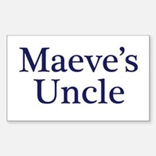 Maeve Uncle Rectangle Decal