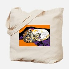 Yin and Yang Kitties Tote Bag
