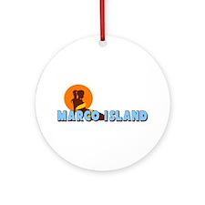 Marco Island FL Ornament (Round)