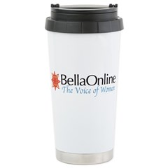 BellaOnline Travel Mug