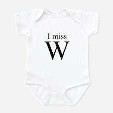 I miss W Infant Bodysuit