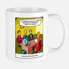 Job interview Small Small Mug