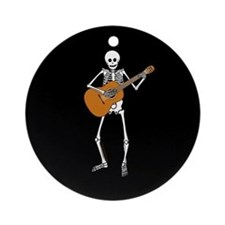 Spanish Guitar Player Ornament (Round)
