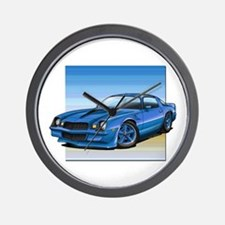 '78-81 Camaro Blue Wall Clock
