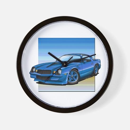 '78-81 Camaro Blue Wall Clock