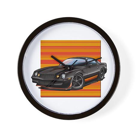 '78-81 Camaro Black Wall Clock